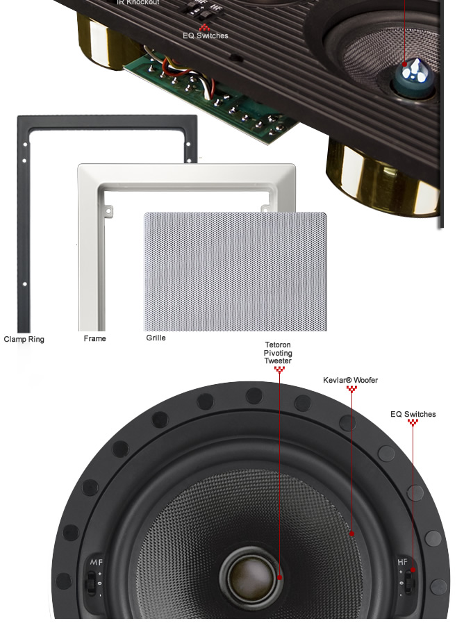 In-Ceiling and In-Wall Speakers - Image 1