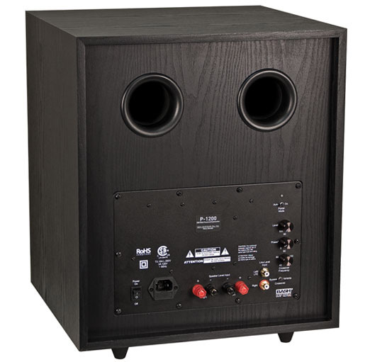 how to connect powered subwoofer to receiver without subwoofer output
